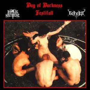 Impaled Nazarene / Beherit - day of darkness festifall - Live 1991 (Split-CD)