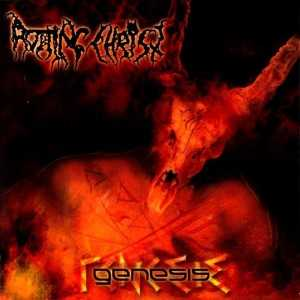 Rotting Christ - genesis (orange crush vinyl, lim. 300), 2-LP