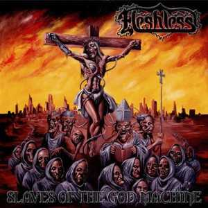 Fleshless - slaves of the god machine (Digi CD)
