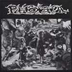 Phobia / Plutocracy s/t (black vinyl), Split-LP