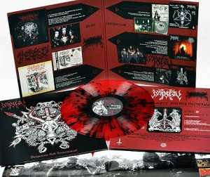 Impiety - vengeance hell immemorial (clear red-black splatter vinyl, lim. edition)