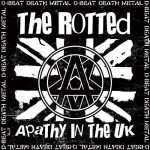 The Rotted - apathy in the UK (white vinyl), EP