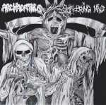 Archagathus / Suffering Mind (white vinyl, lim. 100), Split-EP