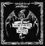 Extinction Of Mankind - northern scum (black vinyl)