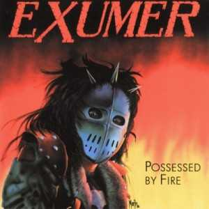 Exumer - possessed by fire (black vinyl) North America press