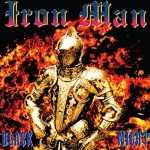 Iron Man - black night (clear red splatter vinyl, lim. edition)
