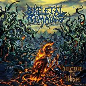 Skeletal Remains - condemned to misery (CD)