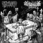 Graveyard Ghoul / Cryptic Brood - the graveyard brood (black vinyl)