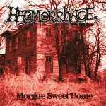Haemorrhage - morgue sweet home (grey-white marbled vinyl, lim. 100)