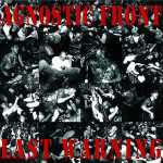 Agnostic Front - last warning (clear red-black splatter), LP