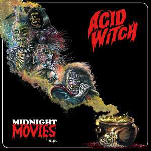 Acid Witch - midnight movies (red-golden marbled vinyl), MLP
