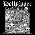 Hellripper - complete and total fucking mayhem (clear red vinyl, lim. 100), LP