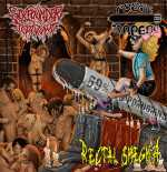 Sixpounder Teratoma / Rectal Smegma / Pussy Torpedo - 69% Porngrind (Split-CD)