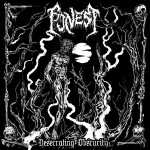 Funest - desecrating obscurity (clear red vinyl, lim. 100), LP