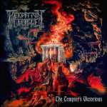 Perdition Temple - the tempter's victorious (red-orange-black splatter vinyl), LP