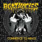 Agathocles - commence to mince (black vinyl), LP