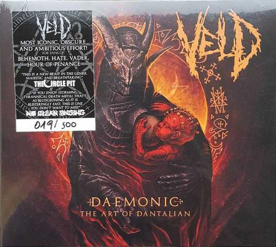 Veld - daemonic: the art of dantalian (Digi CD)