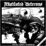 Mutilated Veterans - necro crust warhead (black vinyl), MLP