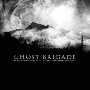 Ghost Brigade - in the woods / soulcarvers (clear red vinyl), EP