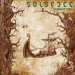 Solstice - lamentations (clear green vinyl, lim. 400), LP