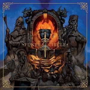 Funeral Circle - funeral circle (one clear blue/one solid golden vinyl), 2-LP