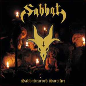 Sabbat - sabbaticarved sacrifice (black vinyl, etched B-side), 12inch EP