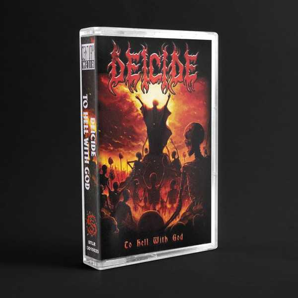 Deicide - to hell with god (cassette tape)