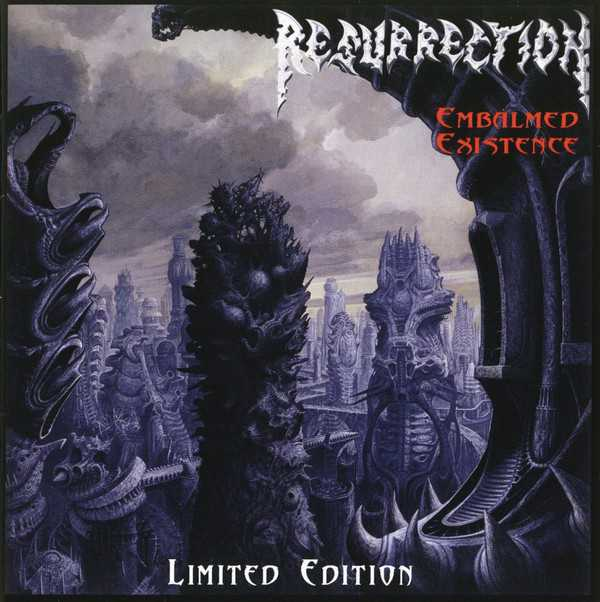 Resurrection - embalmed existence (limited edition CD)