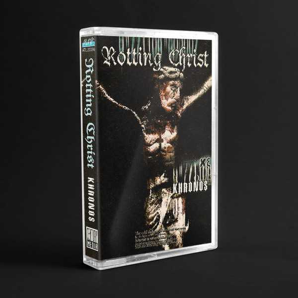 Rotting Christ - khronos (cassette tape)