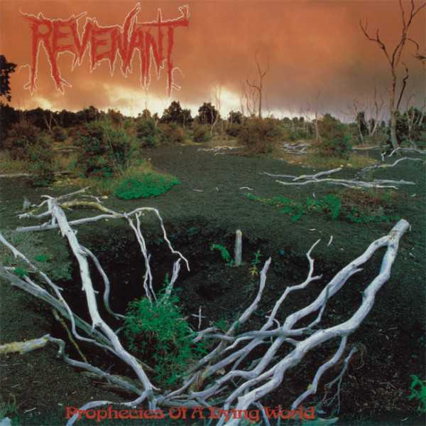Revenant - prophecies of a dying world (red - orange vinyl, lim. 400), 2-LP