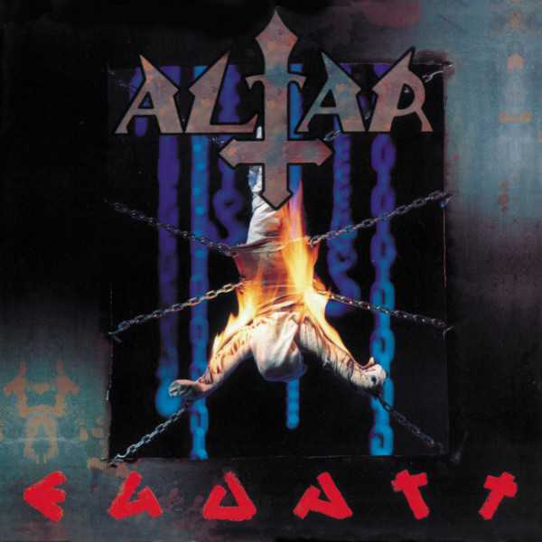 Altar - ego art (clear blue vinyl, lim. 250), LP