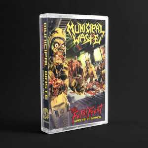 Municipal Waste - the fatal feast - waste in space (cassette tape)