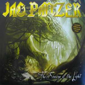 Jag Panzer - the scourge of the light (clear dark green vinyl), 2-LP