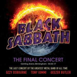 Black Sabbath - the final concert - Genting Arena Birmingham 04.02.17 (2-CD)