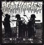 Agathocles / Kompost - war scars / dethrone christ (black vinyl), Split-EP