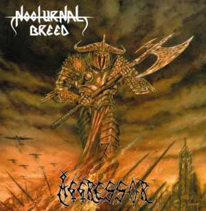 Nocturnal Breed - aggressor (black vinyl, lim. 200), LP