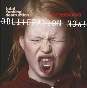 Antigama / Total Fucking Destruction (solid white vinyl, lim. 500), Split-EP