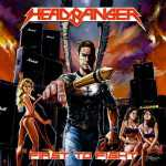 Headbanger - first to fight (clear orange vinyl, lim. 100), LP
