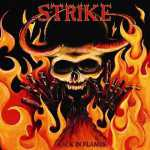 Strike - back in flames (black vinyl, lim. 200), LP