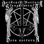 Darkened Nocturn Slaughtercult - hora nocturna (red-black galaxy vinyl), LP
