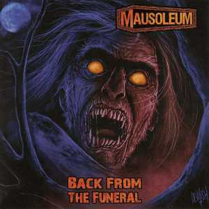 Mausoleum - back from the funeral (green marbled vinyl, lim. 200), LP
