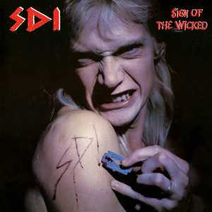 S.D.I. - sign of the wicked (clear bloodred vinyl, lim. 200), LP