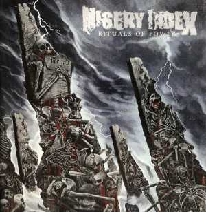 Misery Index - rituals of power (solid silver vinyl, lim. 300), LP