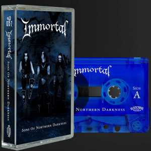 Immortal - sons of northern darkness (cassette tape)