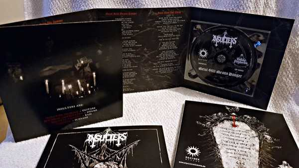 Insulters - metal still means danger (Giant Digipak EP Cover CD)