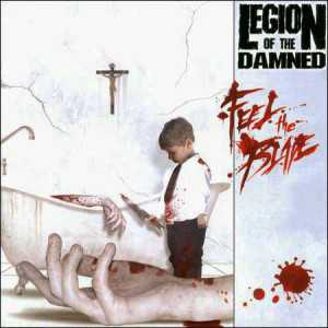 Legion Of The Damned - feel the blade (Südamerika Pressung CD)
