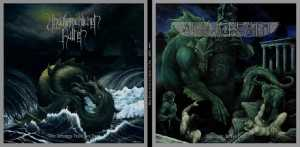 After Death / Unaussprechlichen Kulten - dwellers of the deep / chapter V the madness from the sea (black vinyl), Split-LP
