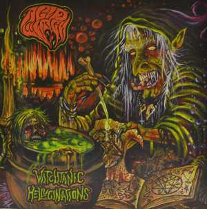 Acid Witch - witchtanic hellucinations (candy corn vinyl), LP