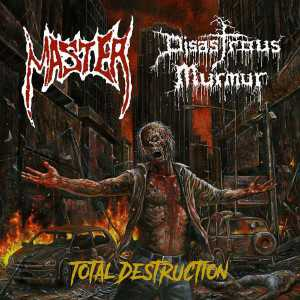 Master / Disastrous Murmur - total destruction (black vinyl), Split-EP