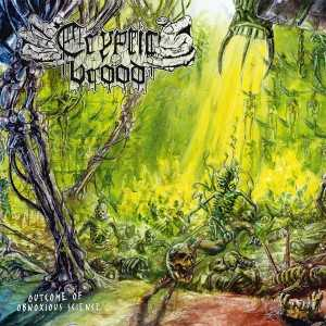 Cryptic Brood - outcome of obnoxious science (black vinyl, lim. 500), LP